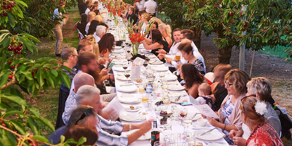 MANJIMUP CHERRY FESTIVAL LONG TABLE LUNCH