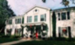 Facade of USC's AXO house.