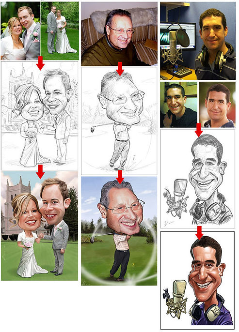 Neil Davies Illustration gift caricatures