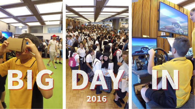 Big Day In @ UTS 2016