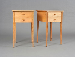2 Drawer Classic Bedside