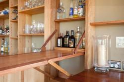 Pavillion Fold-down bar