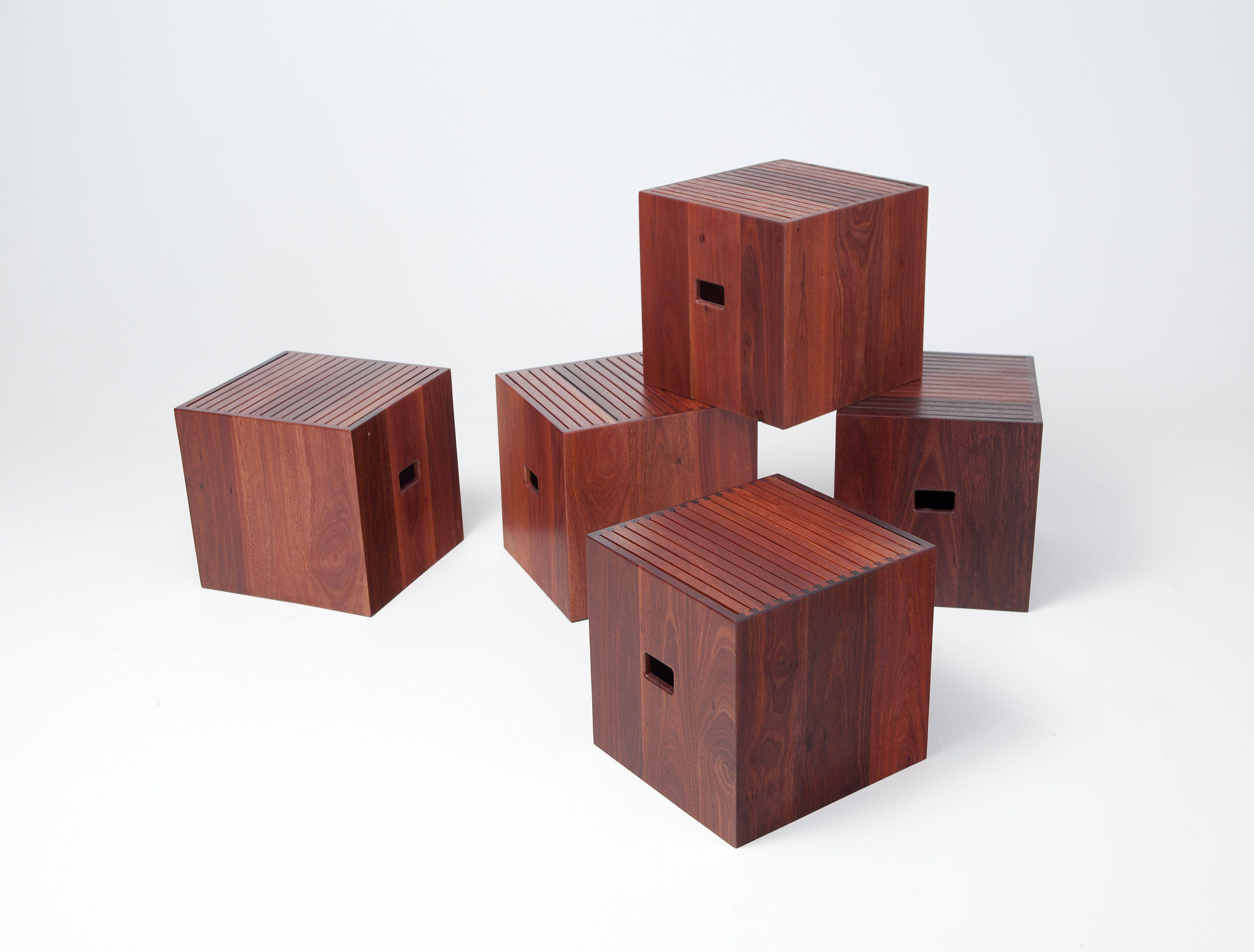 Slatted Cubes