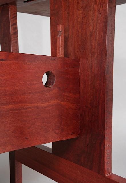 Peg Wedge Table detail