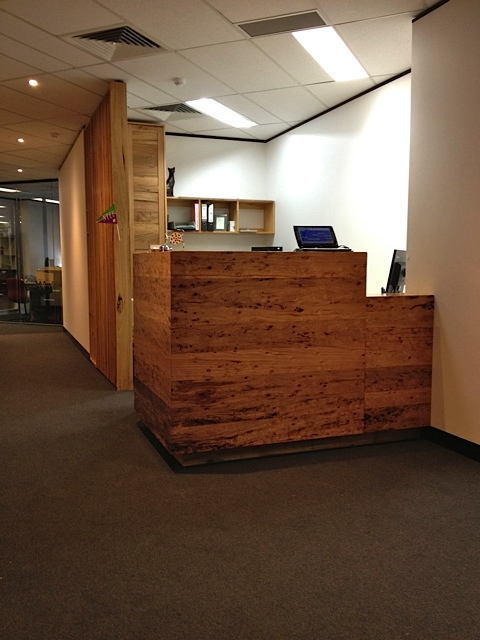 Reception Fit-out