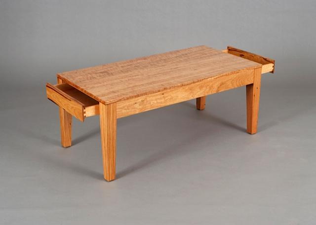 Hidden Drawer Coffee Table