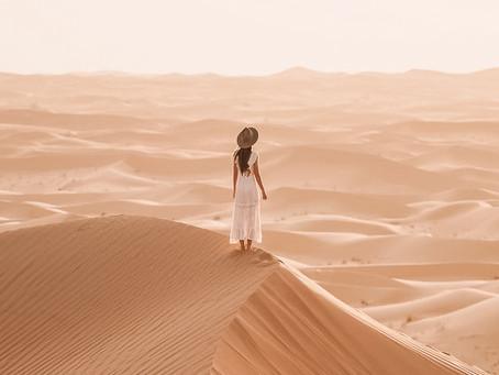 Dia 16- Dependência no deserto