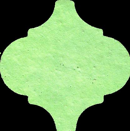 15x15 Arabesco WP344 Verde Acido Opaco