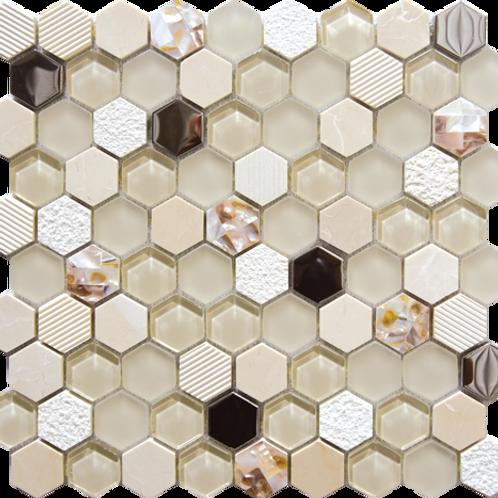 30x30 Mosaico EXA beige
