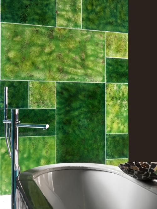 Lavastone Canaletto Verde Chiaro, Verde Scuro