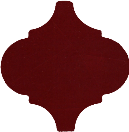 15x15 Arabesco A26 Porpora Lucido