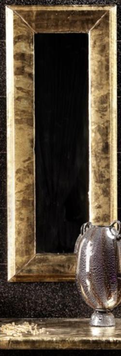 specchio in pietra lavica piccolo