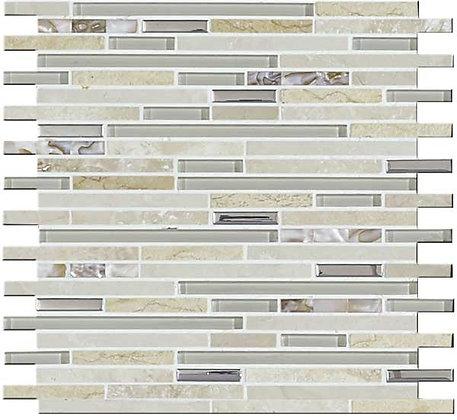 30x30 Mosaico Llluvia Beige