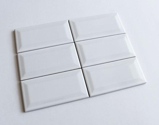 10x20 Diamantato Bianco Lucido