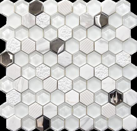 30x30 Mosaico EXA Bianco