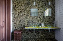 Mosaico in Pietra Lavica Opus GALASSIA Miele