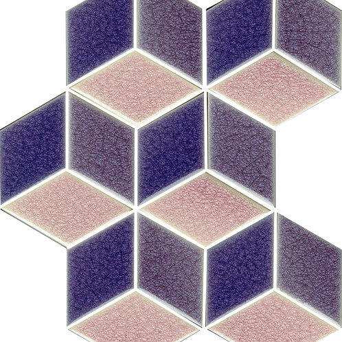 23x20 FOLK3D-3 A922-A926-A928 porpora/viola/melanzana Crak.lé