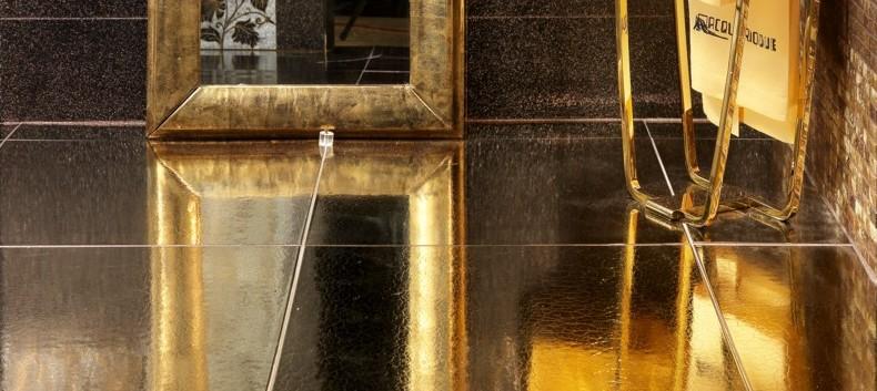 Pavimento oro