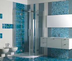 Piastrelle Pietra Lavica Canalettostone Canaletto Azzurro