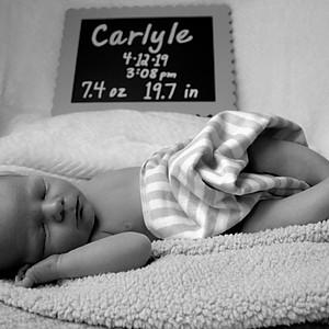 Carlyle's Newborn Photos