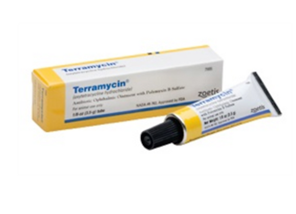 Terramycin Antibiotic Ophthalmic Ointment, 3.5gm