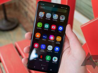 Samsung abre programa beta One UI 3 para seus telefones Galaxy A e M.