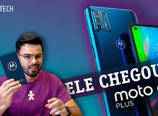 UNBOXING: Novo Motorola Moto G9+, grande em todos os sentidos!