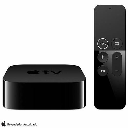 Apple TV 4K, conexão HDMI e Bluetooth para iPhone, iWatch, iPad, iPod