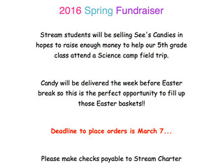 See's Candies Spring Fundraiser