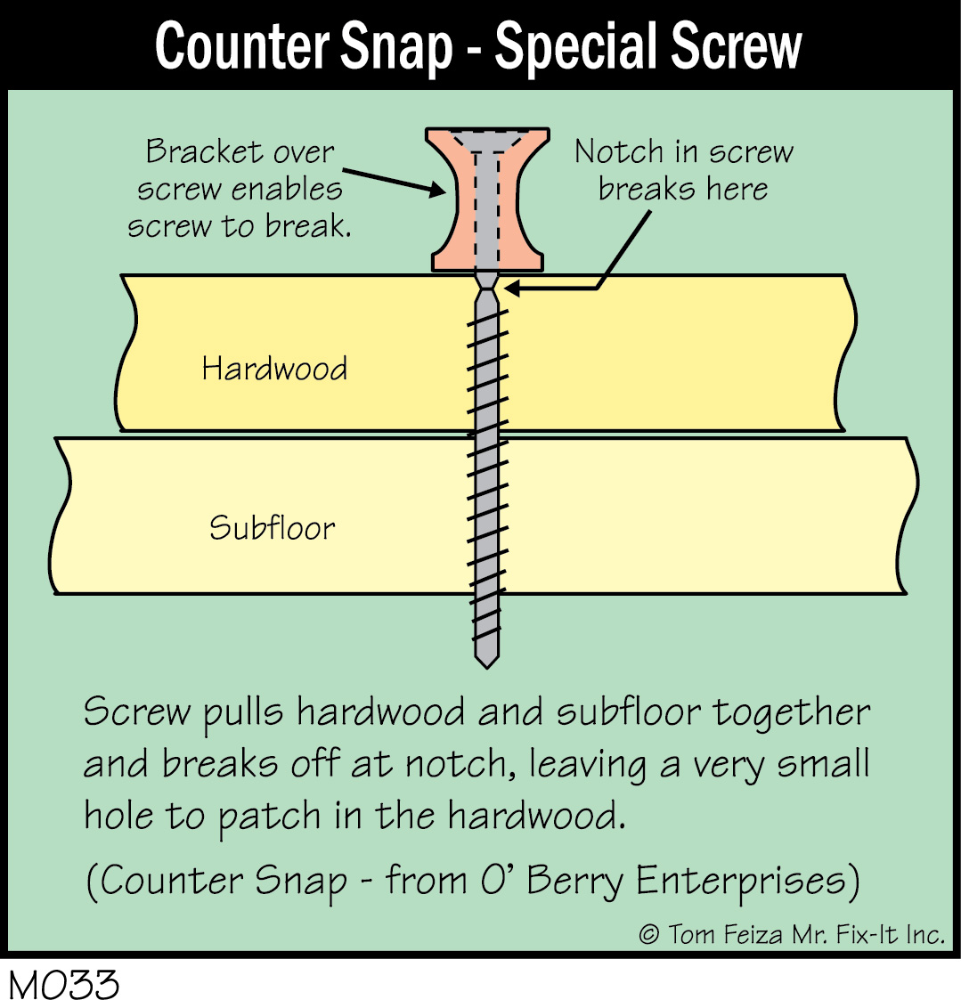 How to fix hardwood floors that squeak - Squeak Squeak Squeak In The Hardwood Floor Home Inspection Sacramento Sierra Inspection Services