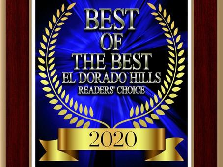Sierra wins Best of the Best Award for 2020!