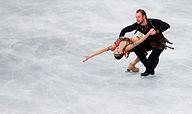 Bazarova and Larionov of Russia perform