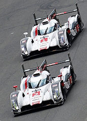 Treluyer of France drives his Audi R18 e