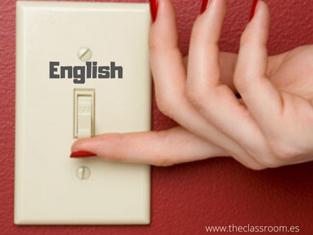 Switch into 'English mode'!