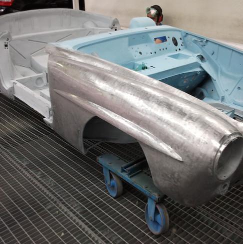 SL 190 1958 aluminio