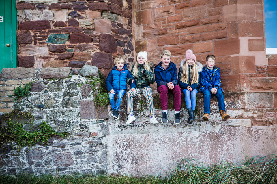 North Berwick family photoshoot