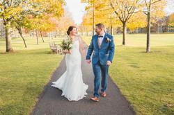Edinburgh wedding Meadows