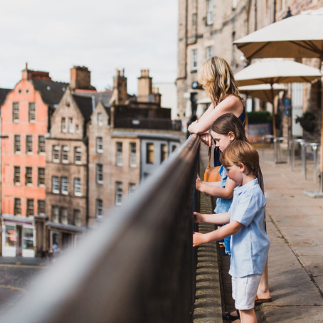 Faichney | Family session | Edinburgh Old Town