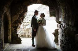 dirleton castle wedding historic