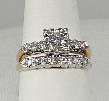 Diamond Wedding Ring Set Norma Jeans Heirlooms Jewelry and