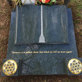 Dark Grey Headstone Unedited No Backgrou