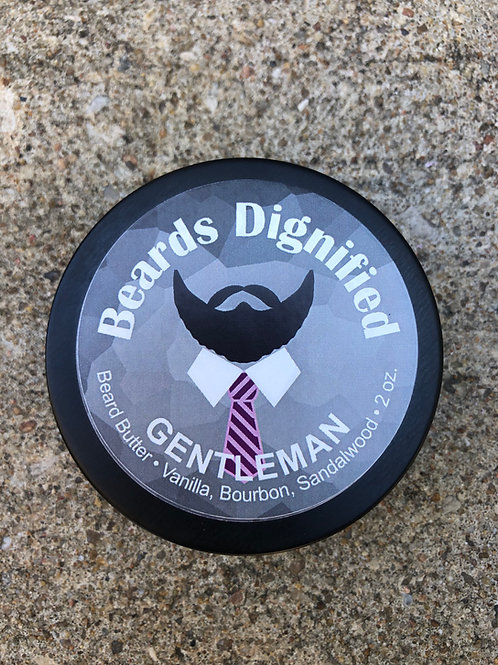 Gentleman Butter - Sandalwood, Bourbon and Vanilla