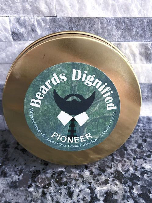 Pioneer Whipped Butter - Birchwood Oud, Frankincense, Myrrh, Lemon