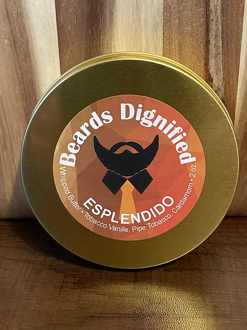 **NEW** Esplendido Whipped Butter - Tobacco vanille, pipe tobacco and cardamom