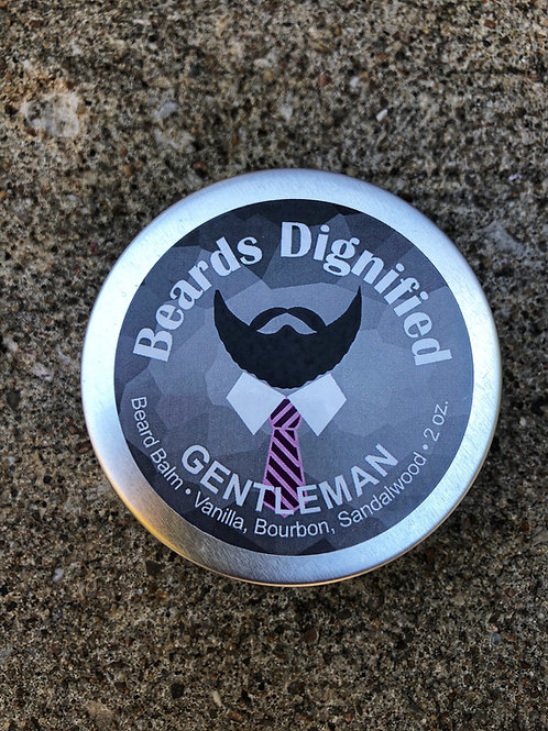 Gentleman Balm - Sandalwood, Bourbon and Vanilla