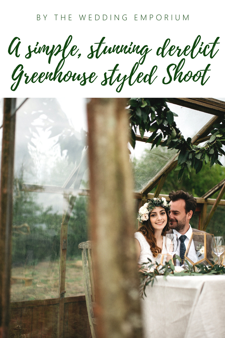 A simplistic stunning styled shoot in the prettiest derelict greenhouse