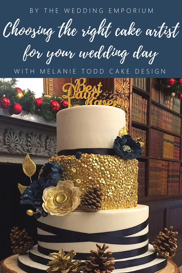 Choosing the right Cake Artist for your wedding day