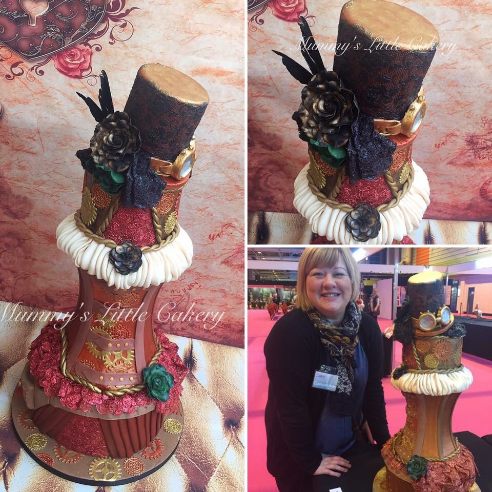 Meet our exciting new Supplier of the Month, Melanie Todd Cake Design!