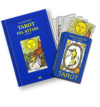 TAROT KARTLARI  VE TAROT FALI KİTABI 2'Lİ SET (KESE HEDİYELİ)