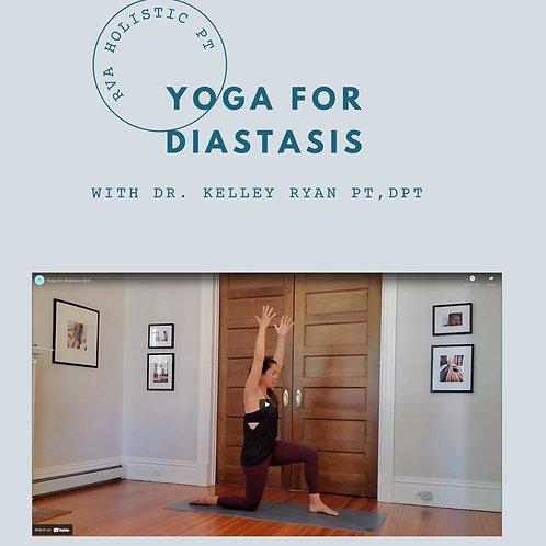 30 Minute Yoga For Diastasis